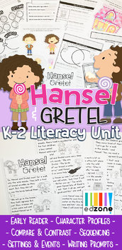 Hansel & Gretel Literacy Unit