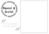 Hansel & Gretel printable template