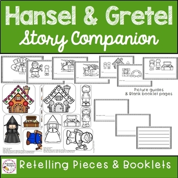 Hansel and Gretel {Story Activities}