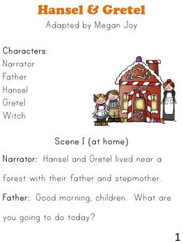 Hansel and Gretel Play & Activities