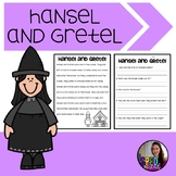 Hansel and Gretel Adapted Activities; Fairy Tale