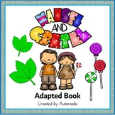 Hansel and Gretel Adapted Book (Special Education and Autism resource)