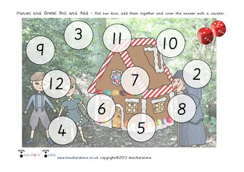 Hansel and Gretel Addition Roll and Cover