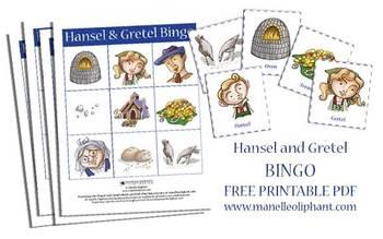 Hansel and Gretel Bingo