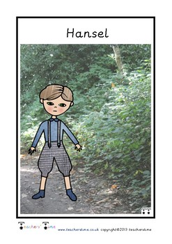 Hansel and Gretel Character Cards