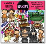 Hansel and Gretel Clip Art Bundle {Educlips Clipart}