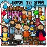Hansel and Gretel Clip Art Set - Chirp Graphics