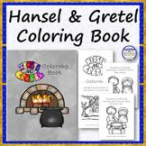 Hansel and Gretel Coloring Book