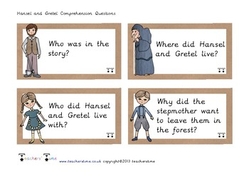 Hansel and Gretel Comprehension Questions