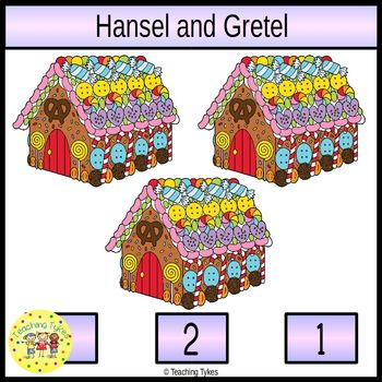 Hansel and Gretel Clip Task Cards