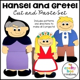 Hansel and Gretel Craft Bundle   Fairy Tale Craft Activities   Retelling