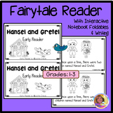 Hansel and Gretel Early Reader w/ Interactive Notebook Foldables