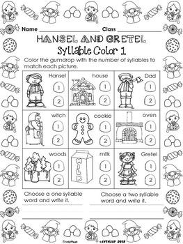 Hansel and Gretel (FREE K-2 Sampler)