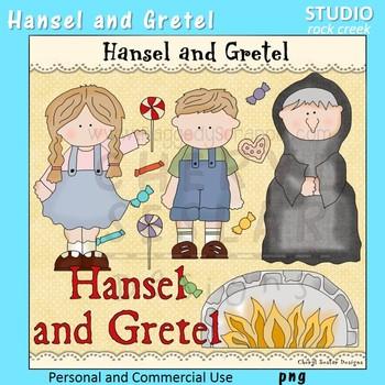 Hansel and Gretel Fable Clip Art C Seslar