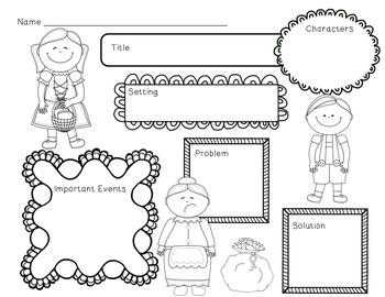 Hansel and Gretel Mini Unit~ Includes Graphic Organizers & Much More!