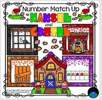Hansel and Gretel Number Match Up