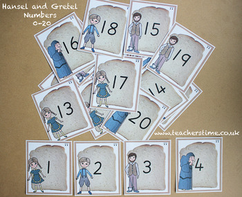 Hansel and Gretel Numbers 0-20