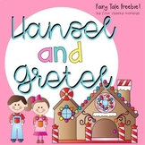 Hansel and Gretel Oral Retell Sequencing Sheet