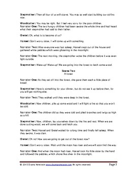 Hansel and Gretel-Play Script