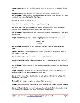 Hansel and Gretel-Play Script
