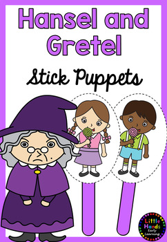 Hansel and Gretel Puppets