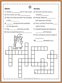 Hansel and Gretel  Puzzle Fun