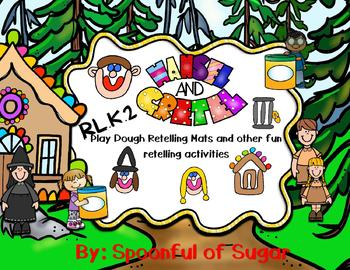 Hansel and Gretel Retelling Play-doh Mats and other fun!