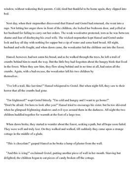 Hänsel Und Gretel Text