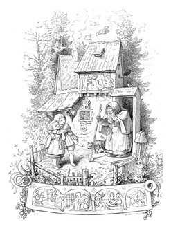 Hansel and Gretel Word Search and Color