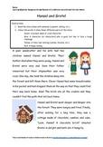 Hansel and Gretel Worksheet