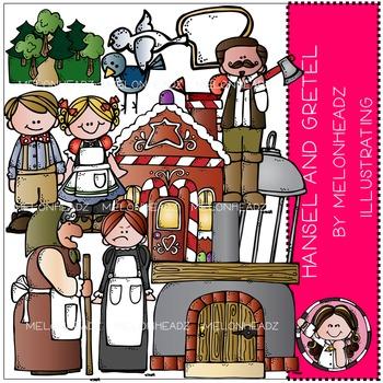 Melonheadz: Hansel and Gretel clip art