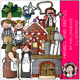 Hansel and Gretel clip art- by Melonheadz