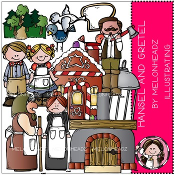 Melonheadz: Hansel and Gretel clip art