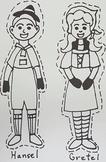 FREEBIE! K-4th grade Hansel and Gretel puppets {Set #1, Ha