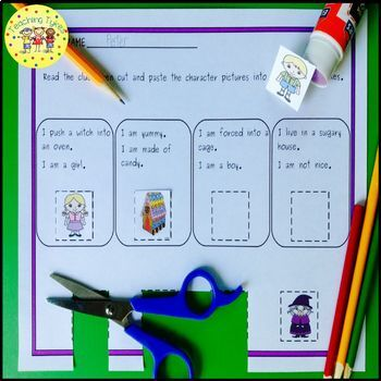 Hansel and Gretel Fairy Tales Worksheets Activities Games Printables and More