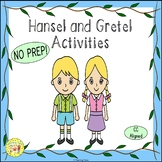 Hansel and Gretel Fairy Tales Worksheets Activities Games