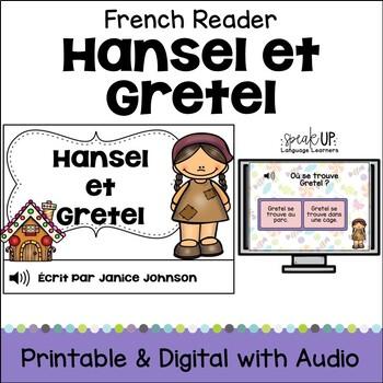 Hansel et Gretel Simplified French Reader & Sentence formi