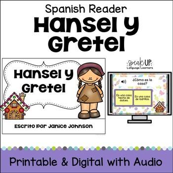 Hansel y Gretel Simplified Spanish reader {en español} & Sentence forming pages