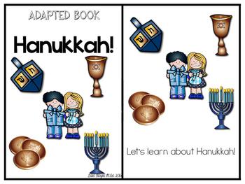 Hanukkah Adapted Book