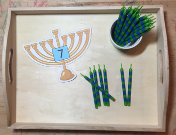 Chanukah/Hanukah Addition and Tally Marks