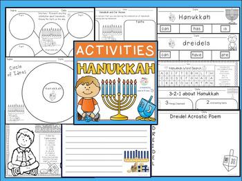 Hanukkah - Activities to Celebrate the Hanukkah Holiday