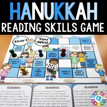 Hanukkah Activities: A Hanukkah Reading Game
