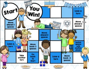 Hanukkah Activities: A Hanukkah Reading Game