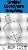 Hanukkah Math Activity: Dreidel Coordinate Graphing Picture and Ordered Pairs
