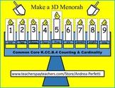 Hanukkah 3D Menorah