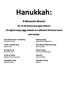 Hanukkah: A Messianic Musical
