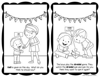 Hanukkah - Holidays Around the World Reader Kindergarten & First Social Studies