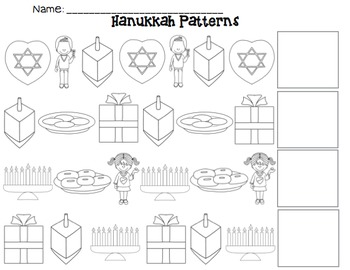 Hanukkah AB/ABC Pattern Pack