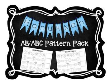 Hanukkah AB/ABC Pattern Pack
