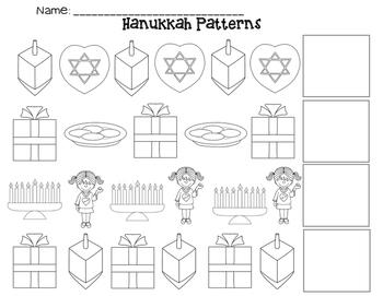 Hanukkah AB Patterns